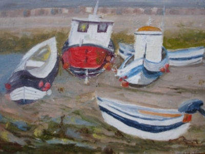 Waiting for High Tide, Staithes