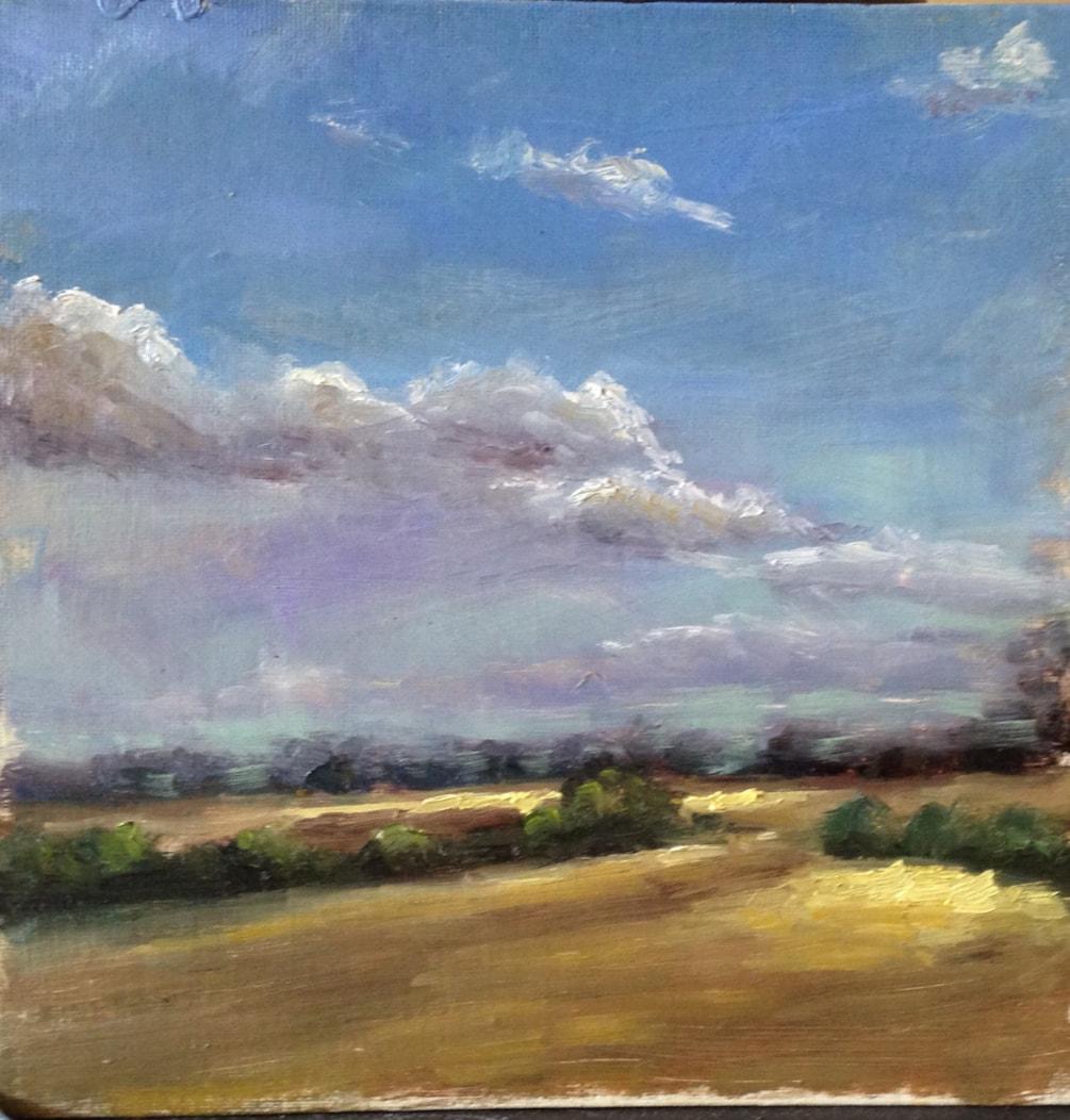 Towards Clare (Suffolk)