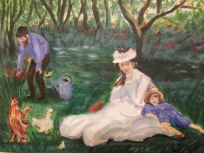 My Manet forgery