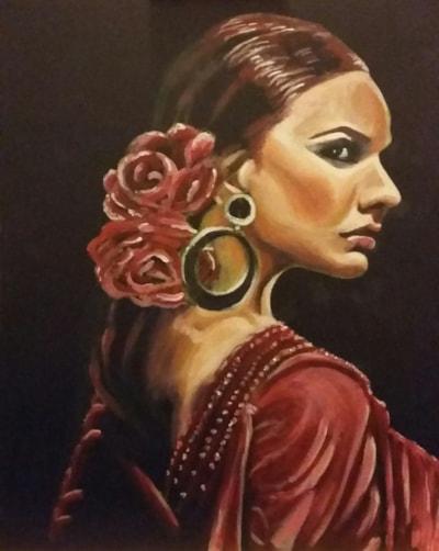 Flamenco attitude