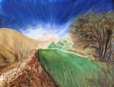 Yorkshire Moors lane