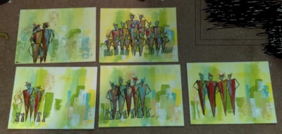 Abstract family groups