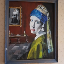 Another girl with a pearl earring