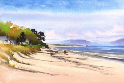 Looking West from Nairn Beach