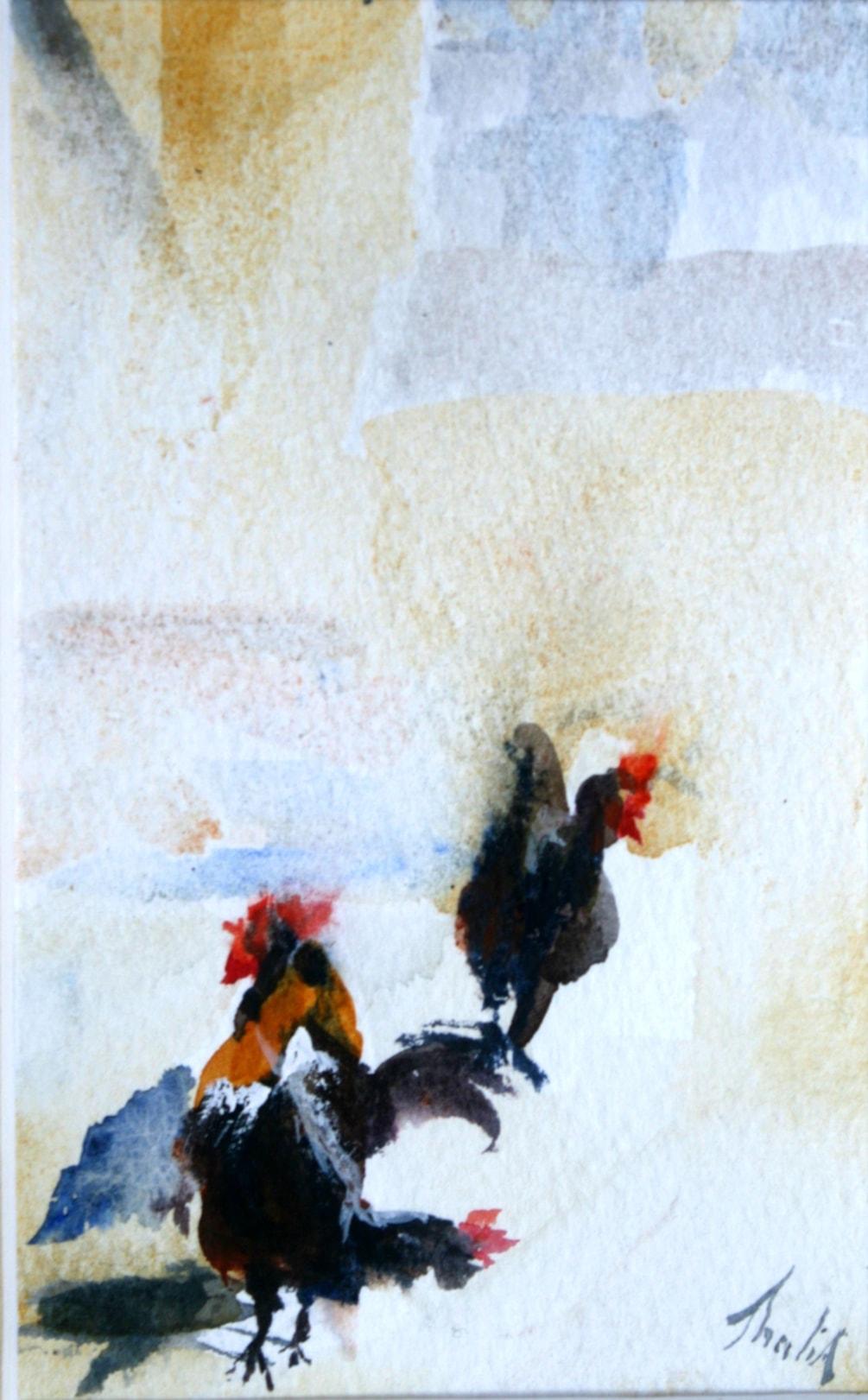 Pecking Bethlehem