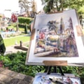 Portmeirion plein air