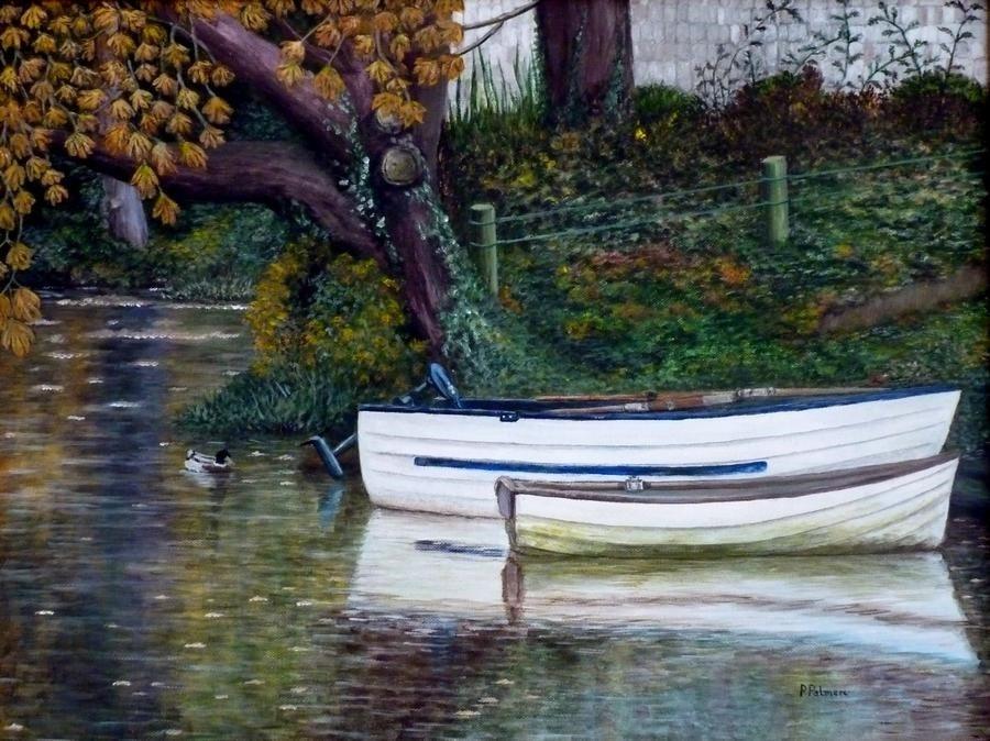 River Welland. Stamford. Autumn