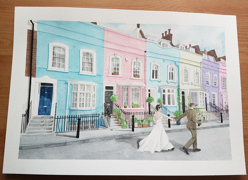 Bywater Street London - Watercolour 2018