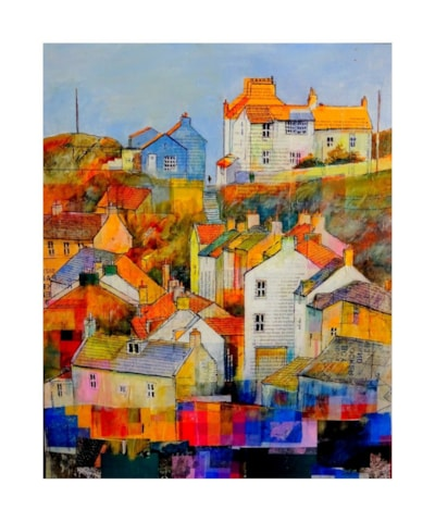 Staithes view from old viaduct