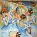 Impression of Degas - Blue Dancers