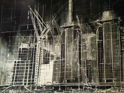 Battersea Worksite, the Sketch, London