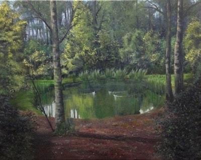 The Oaken Pond (finished)