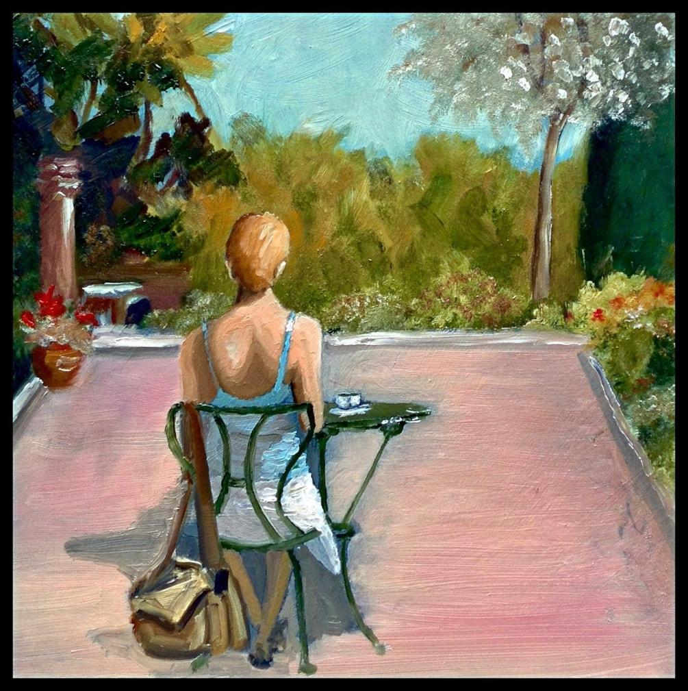 'Tea on the terrace'