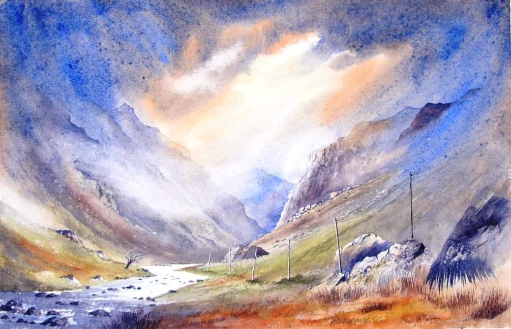 4 .Llandberis Pass Snowdonia - Copy