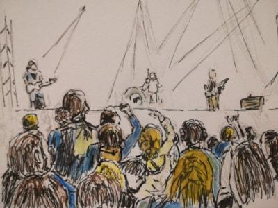 The rock concert