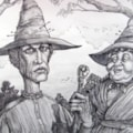 Terry Pratchett witches.