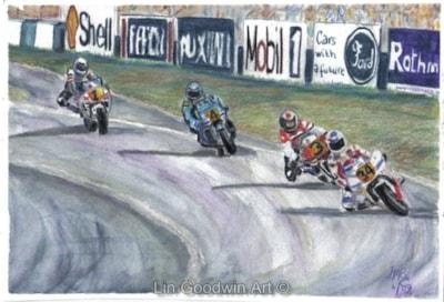 Superbikes at Donington Park