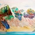 Mountain Lake (quick sketch)