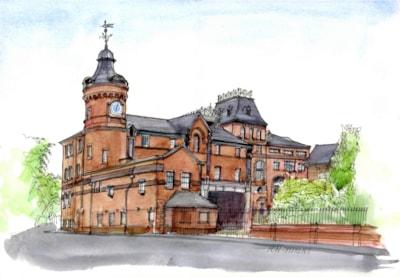 Old Greenhall Whiteley's brewery Stockton Heath