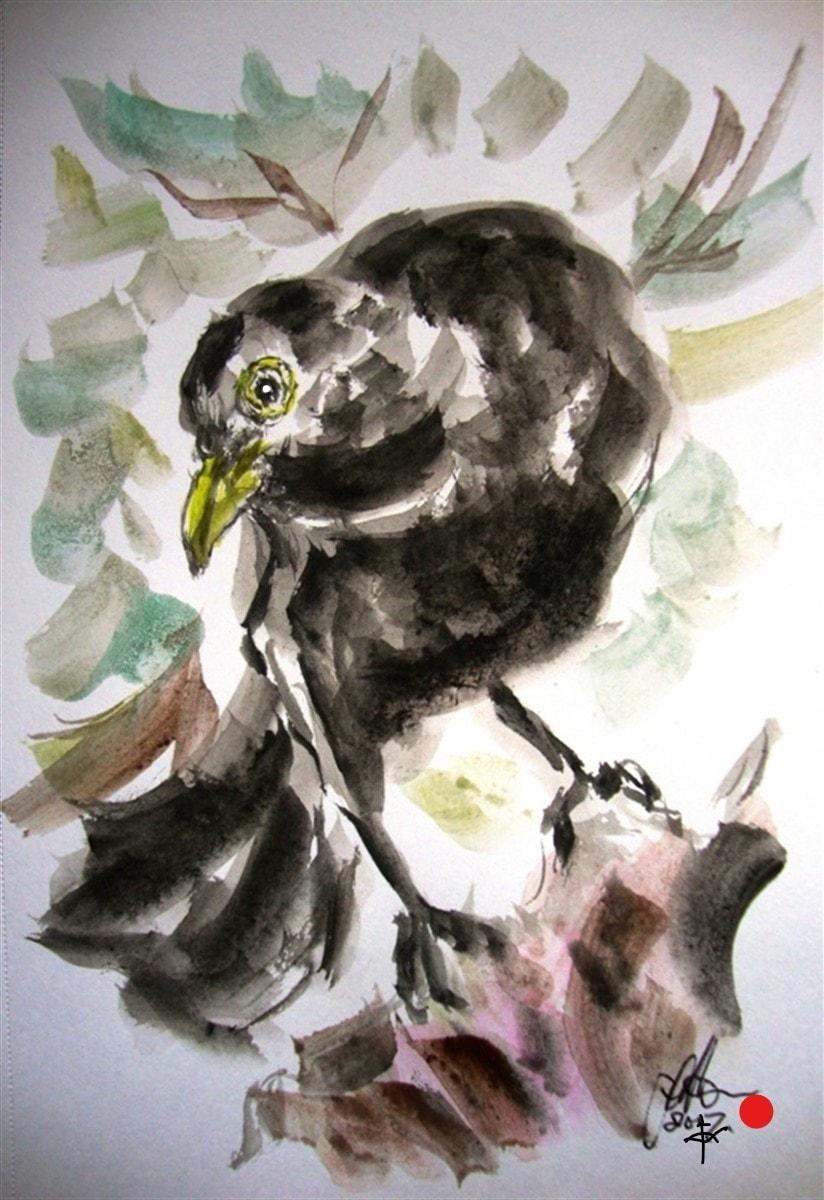 Good morning Mr Blackbird....