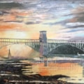 Britannia Bridge over the Menai Strait