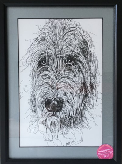 Scruffy Irish Wolfhound