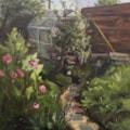 The Hidden Greenhouse (bottom of my garden!).