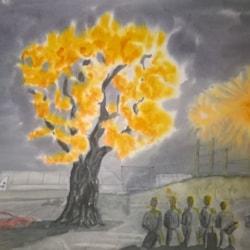 The glowing oak tree, attemt No.2