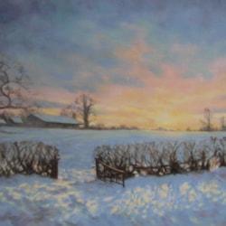 Winter glow