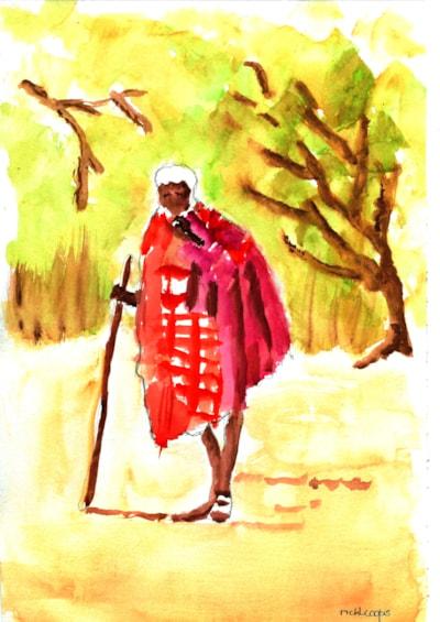 Maasai - After Hazel Soan