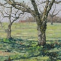 The old apple orchard, early April