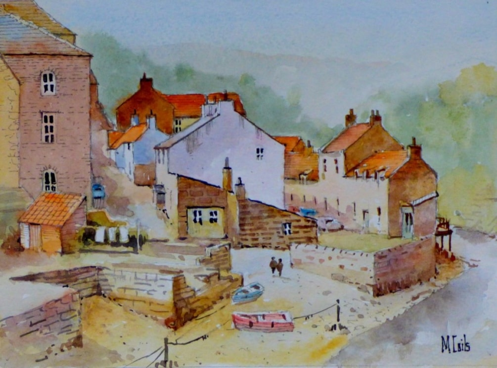 Staithes Beck at low water
