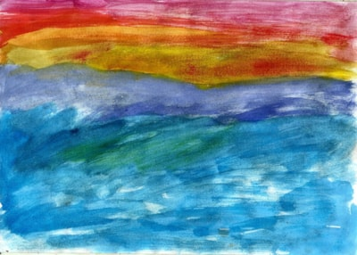 Nature - abstract seascape