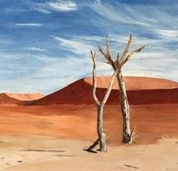 Petrified, Namibia