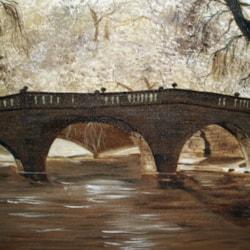 Bridge - Cambridge  (Oil)