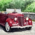 Ford V8 Pilot,  South of France