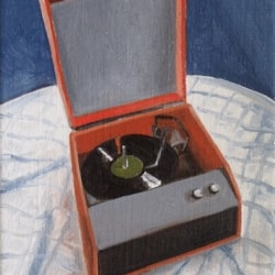 R is for Record Player