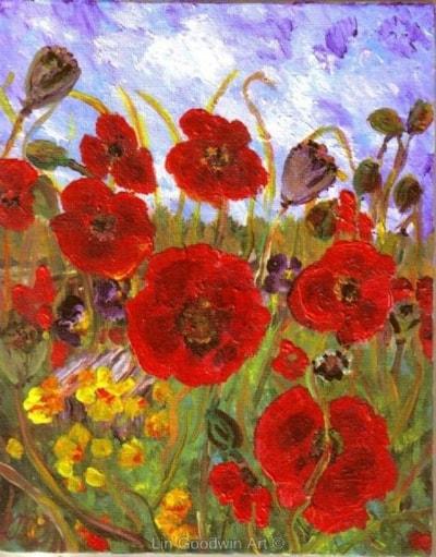Poppies a la Vincent