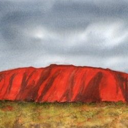 Uluru, or Ayers Rock