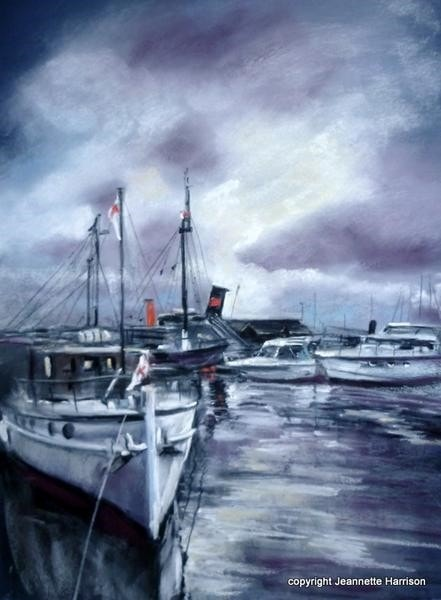 After the Rain - Ramsgate Harbour