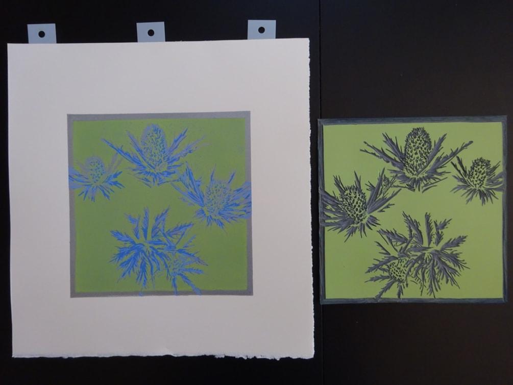 5. Work in progress - new print