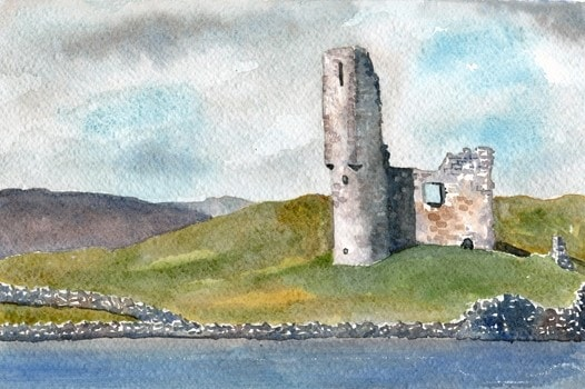 Ardvreck Castle, Loch Assynt for Alan Bickley