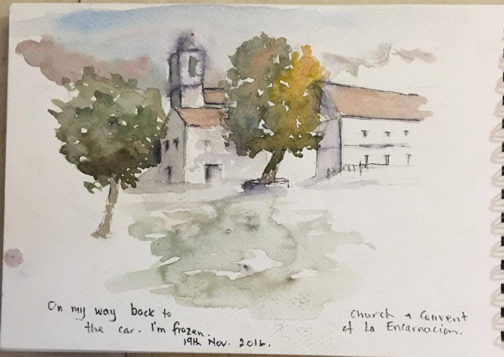 Convent and church of the Incarnation Casares, Spain