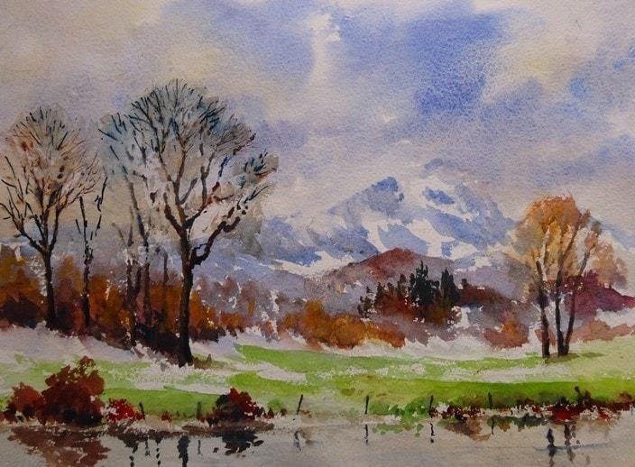 Wetherlam in winter