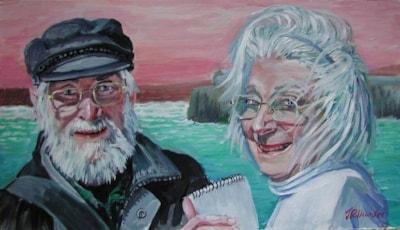 Audrie & Roy Acrylic