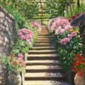 Italian Garden Steps
