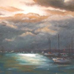 Last light, St. Tropez