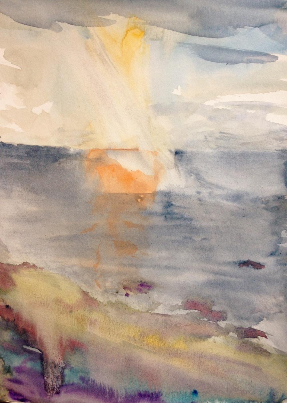 Seascape 2 (quick sketch)