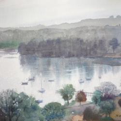 Misty Day on Windermere