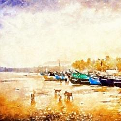 Fishing Village Sri Lanka
